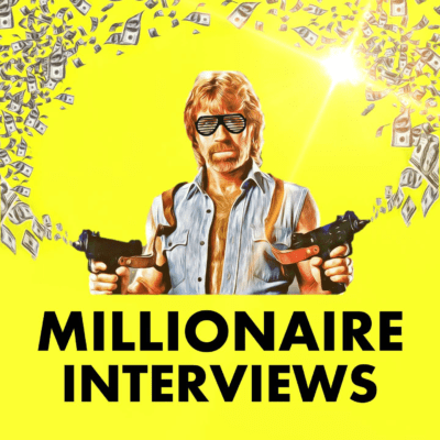 Millionaire Interviews Podcast Artwork